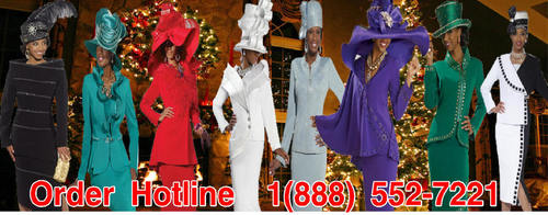 Clearance Church Suits, Donna Vinci, Church Hats