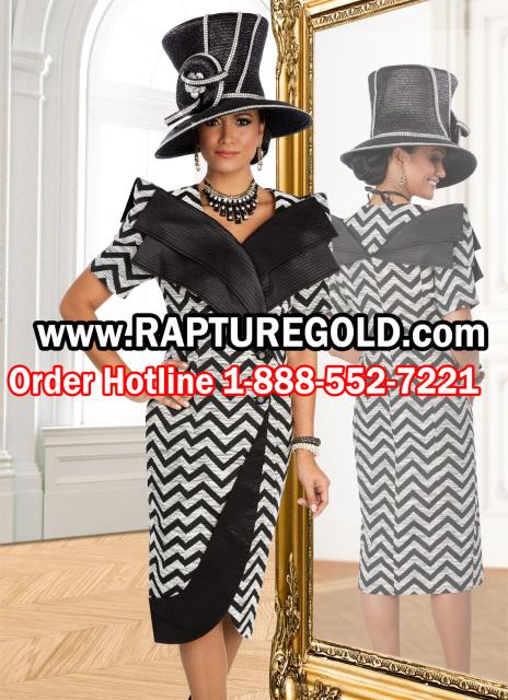 78fe98d455cd Donna Vinci 5568 Chevron Dress